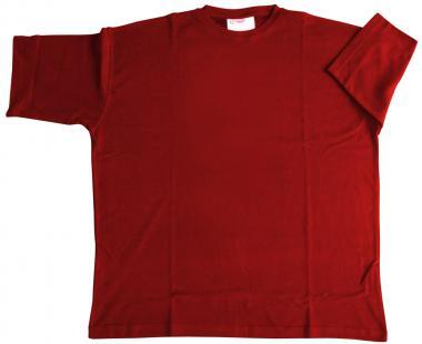 T-Shirt Basic rot 6xl