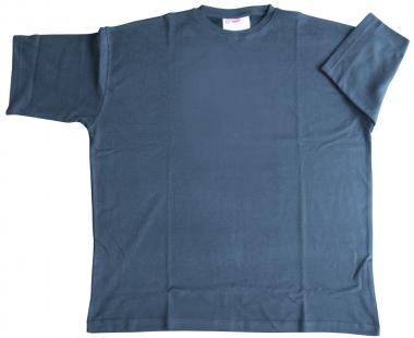 T-Shirt Basic mittelblau