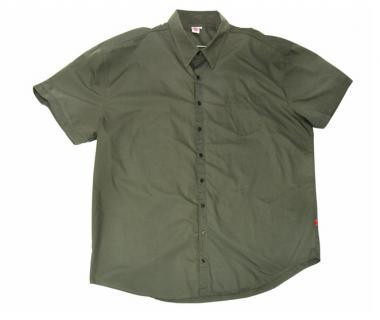 Kurzarm Hemd militarygrün