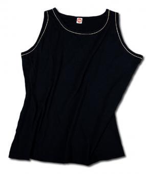 Trägershirt schwarz