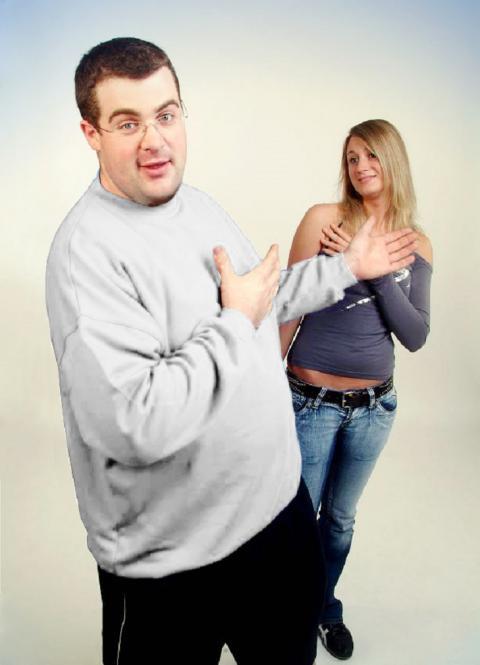 Basic Sweatshirt weiß