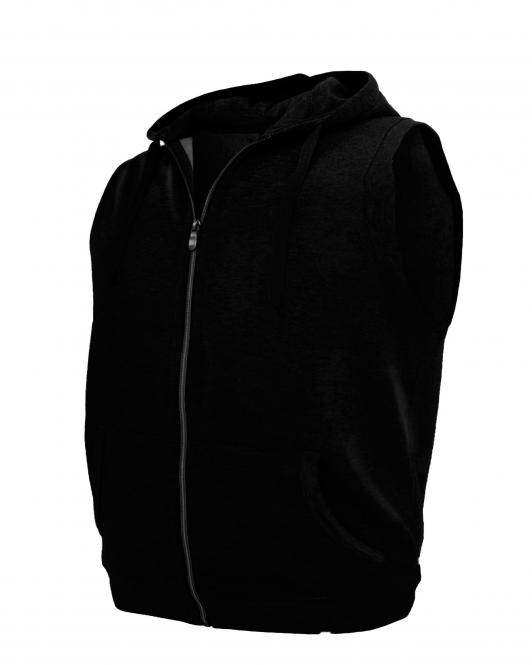 Hooded Sweat Jacket black