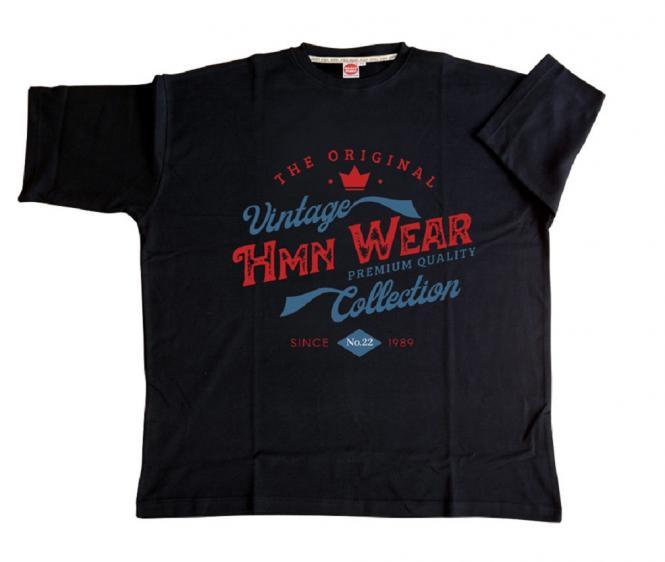 T-Shirt HMN Wear in schwarz