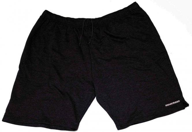 Sweat-Bermuda schwarz 12xl