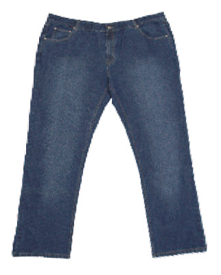 Jeans basic 5-pocket blue
