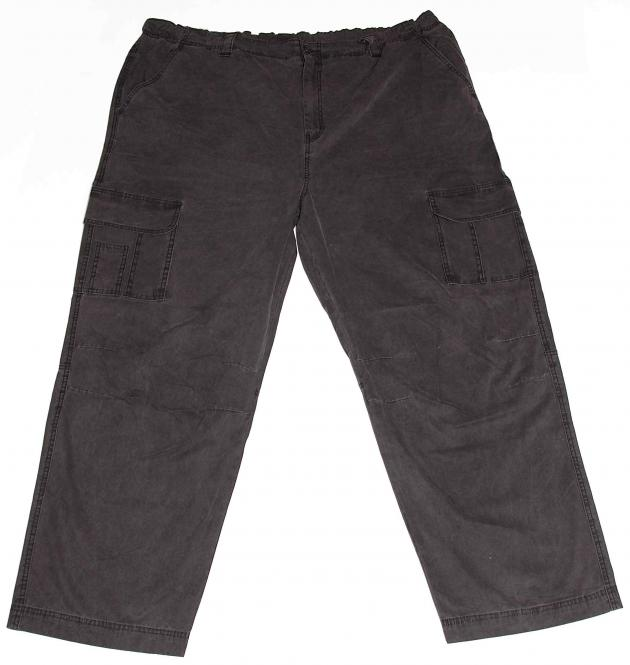 Cargo Pants, Black, Washed